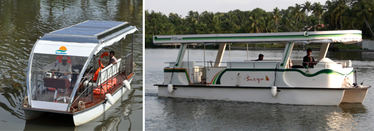 Solar Powered Passenger Boat Eco Friendly India Solutions