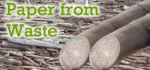 Paper from Sugarcane Waste