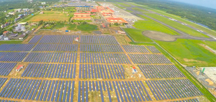 Cial World S First Solar Powered Airport Eco Friendly